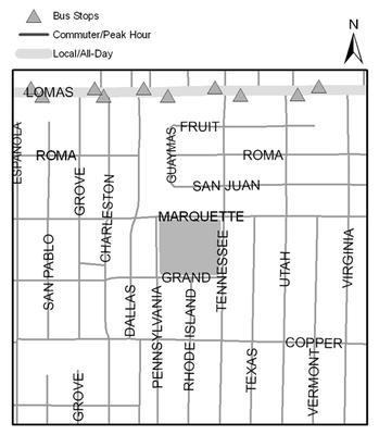 Map of Mesa Verde Park