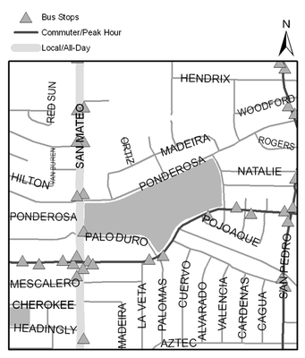 Map of Montgomery Park