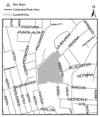 Map of Pat Hurley Park