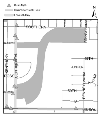 Map of Phil Chacon Park