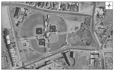 Redlands Park Satellite Image