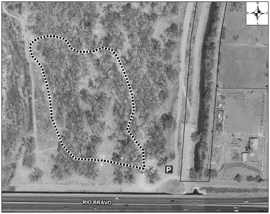 Rio Bravo Open Space Satellite Image
