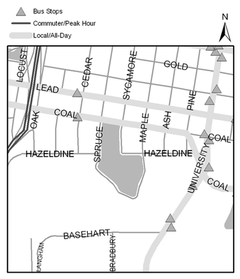 Map of Roosevelt Park