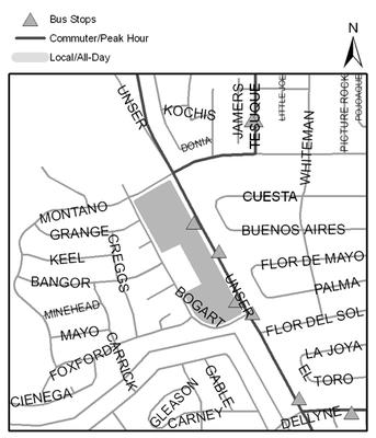 Map of Santa Fe Village Park