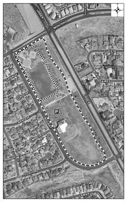 Santa Fe Village Park Satellite Image