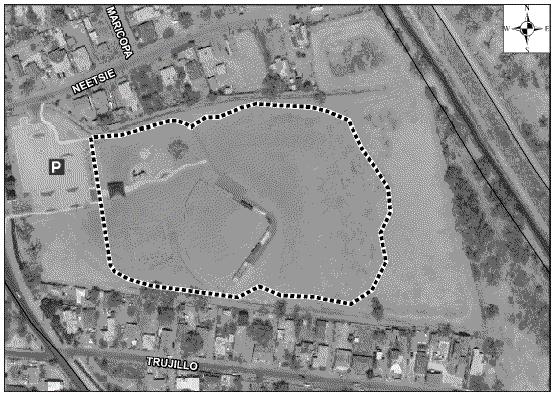 Valle del Bosque Park Satellite Image