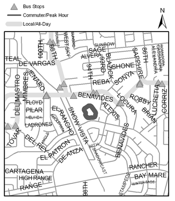 Map of Westgate Community Center Park