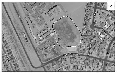 Westgate Community Center Park Satellite Image