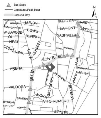 Map of Westside Community Complex