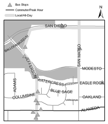 Map of Wildflower Park