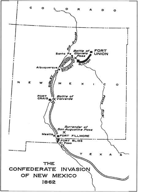 Confederate Invasion of NM 1862 06132011