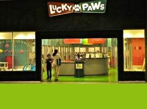 Lucky Paws Entrance