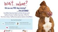 Albuquerque Animal Welfare Department has partnered with GoodPup