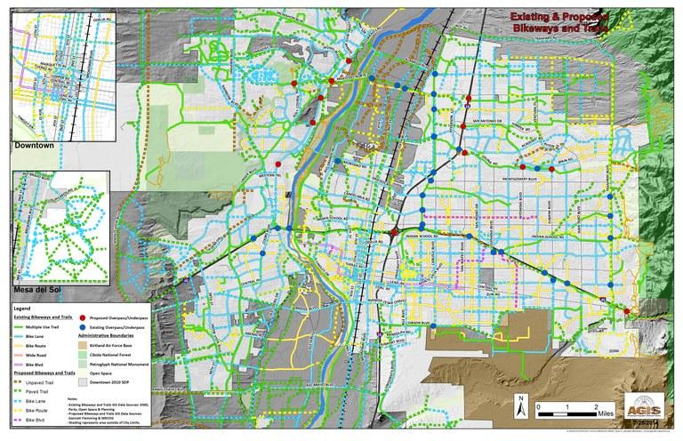 Existing Proposed Bikeways Trails