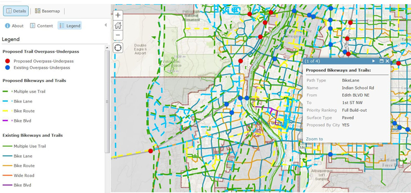 caption:Bikeways and Trails Facility Plan Interactive Map