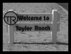 Taylor Ranch Sign