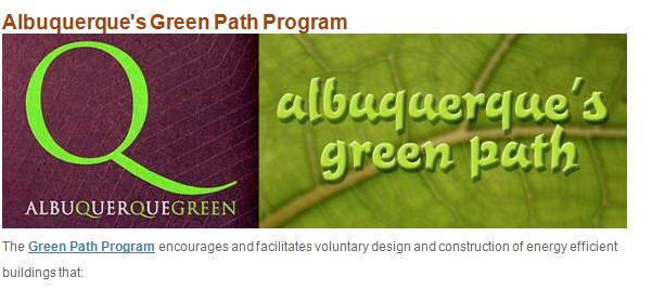 Albuquerque's Green Path Image