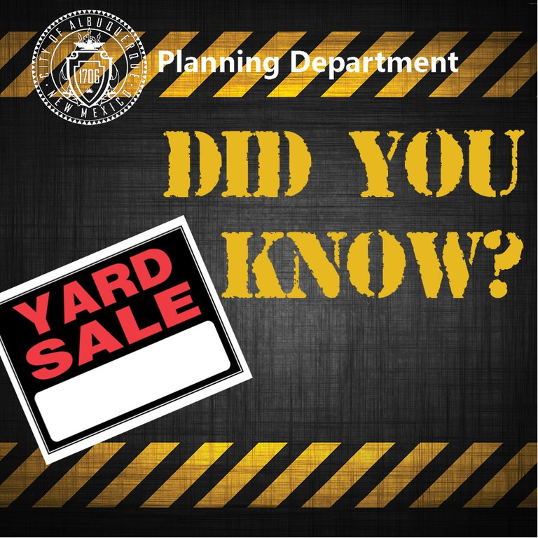 Did you Know? Yard Sale Questions