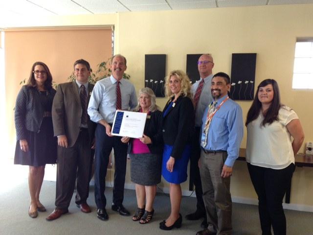 City Accepts APA Certificate