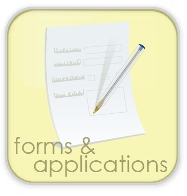 Icon for forms and applications