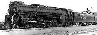 ATSF Locomotive 1