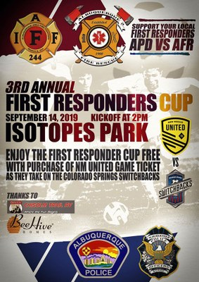 3rd Annual First Responders Cup: APD vs AFR