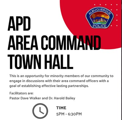 APD Northwest Area Command Town Hall