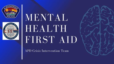Mental Health First Aid Certification Class