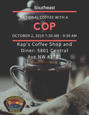 Southeast: National Coffee With a Cop