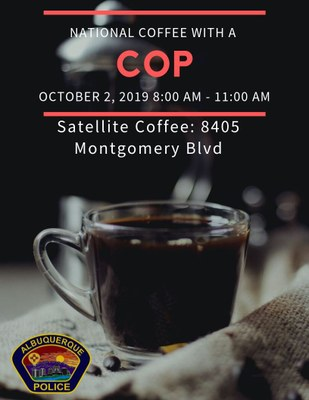 Northeast: Coffee with a Cop