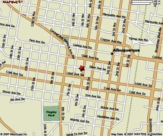AFAC Map