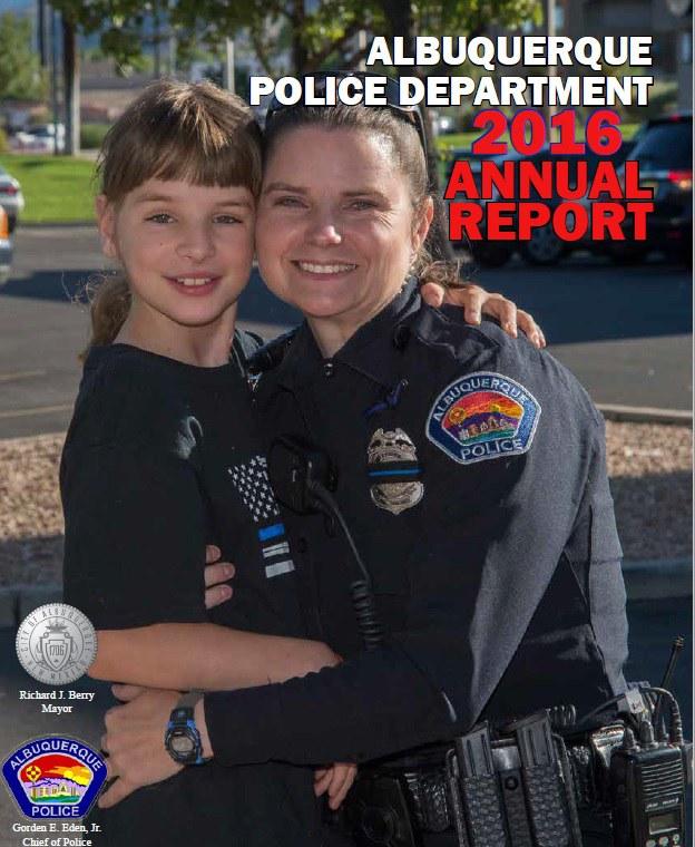 2016 Albuquerque Police Department Annual Report Picture
