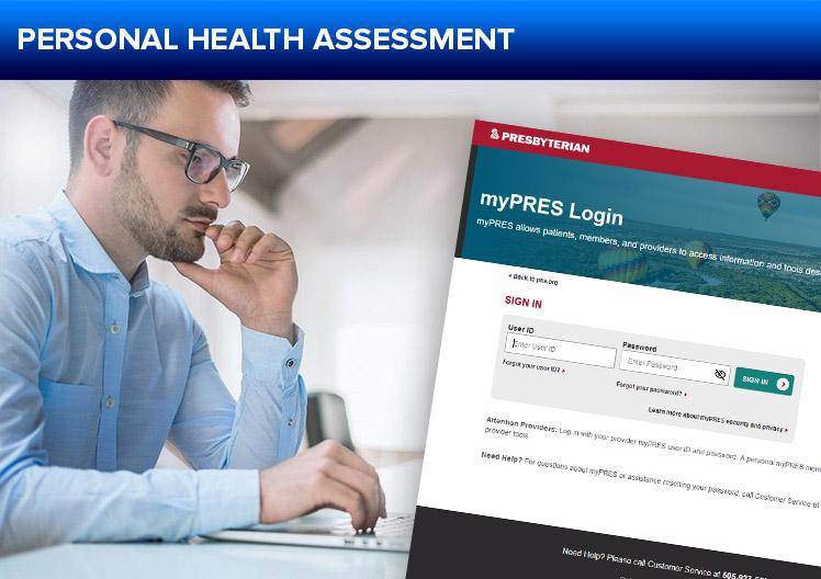 APD Officer Wellness Personal Health Assessment Button