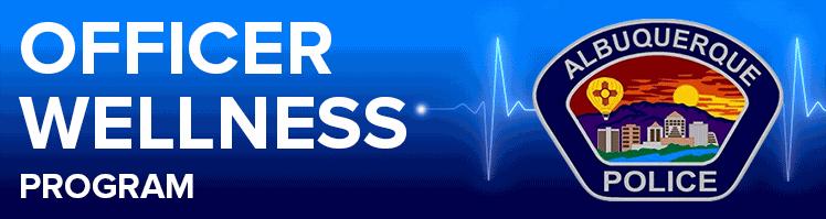 APD Officer Wellness Banner