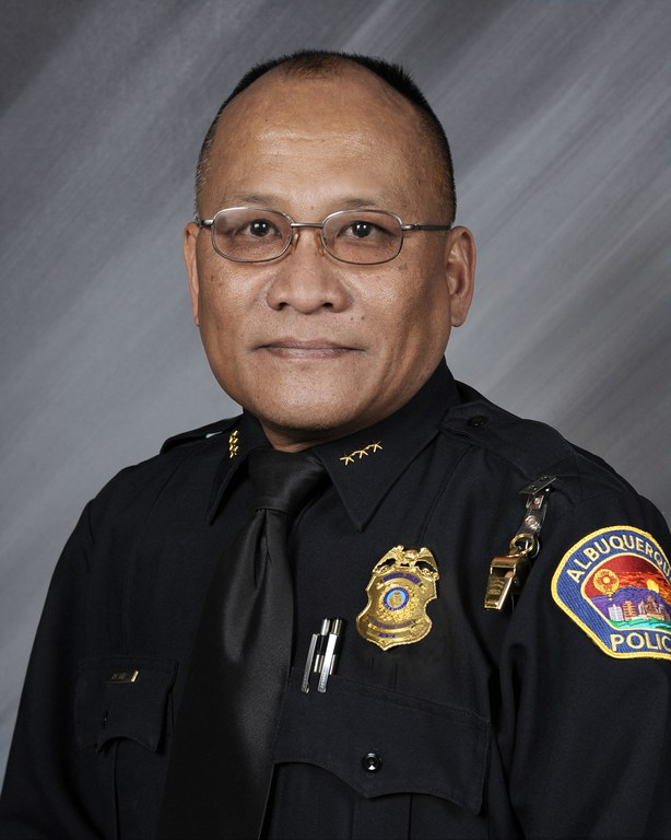 An image of Deputy Chief of Police Rogelio Bañez.
