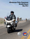 Monthly Police Report: May 2015 Cover