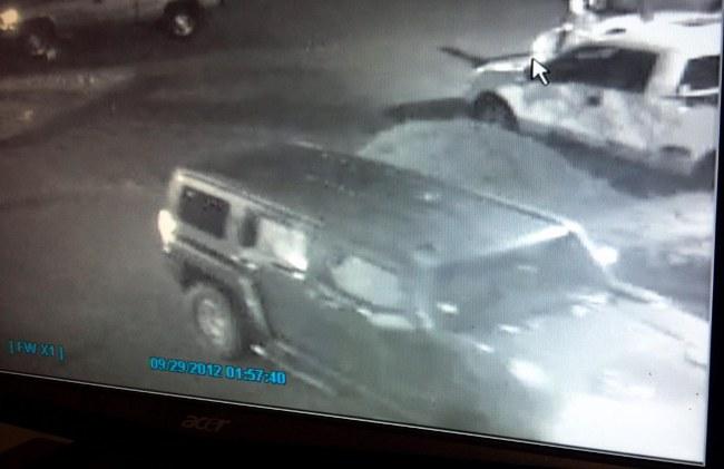 October 2012 Nightclub Shooting Vehicle