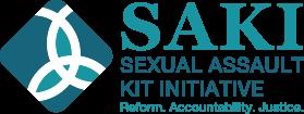 Logo SAKI Sexual Assault Kit Initiative