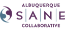 A jpeg of SANE Sexual Assault Nurse Examiners logo.