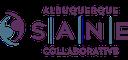 A jpeg of SANE Sexual Assault Nurse Examiners logo.