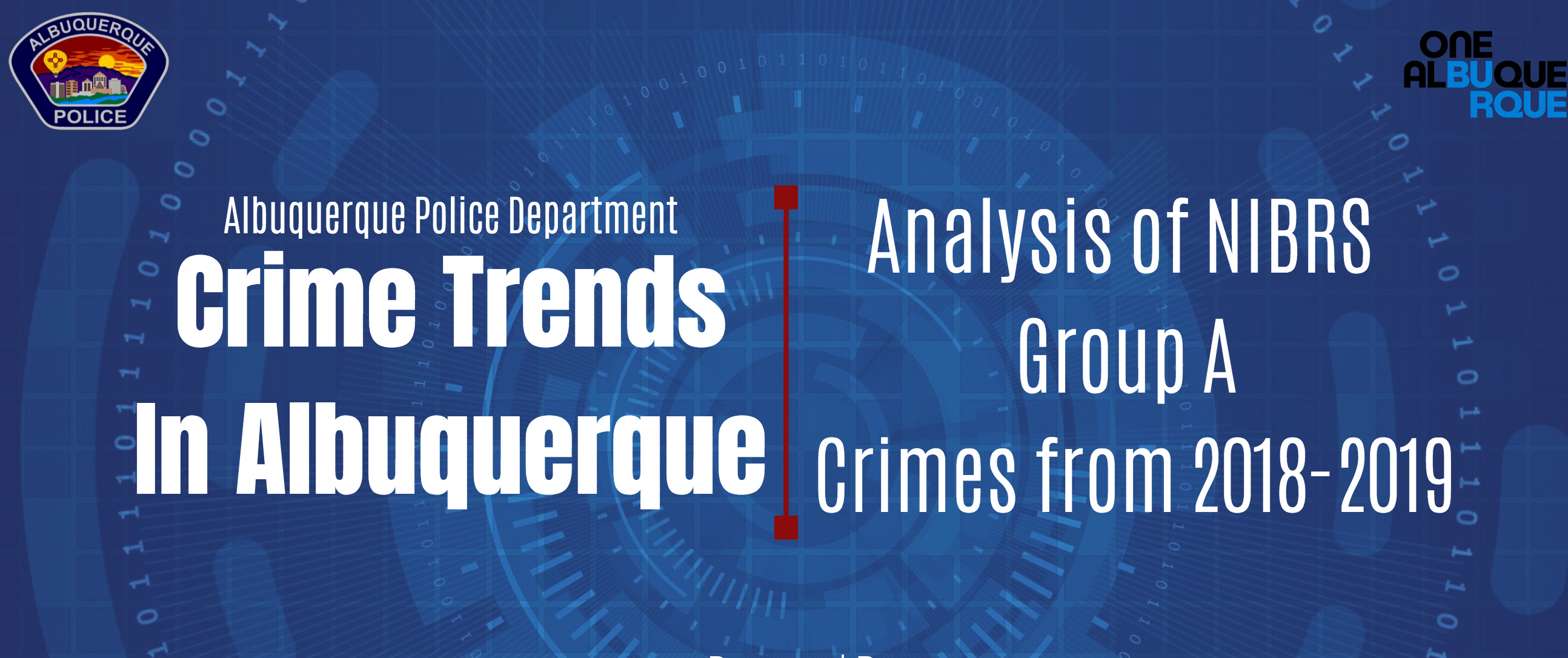 APD Releases 2019 Crime Stats