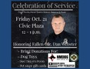 Celebration of Service for Fallen APD Hero