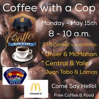 Citywide Coffee with a Cop Events
