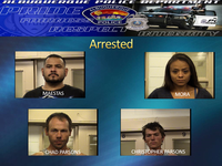 Four Suspects Arrested After Rash of Auto Burglaries