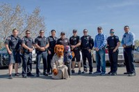 Officers Surprise 6-Year-Old Foster Child