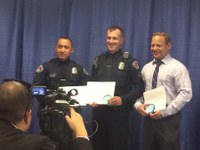 Three Albuquerque Police Officers Receive Prestigious Award