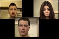Three Suspects Arrested in Stolen Vehicles