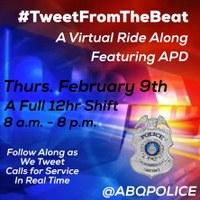 TOMORROW: #TweetFromTheBeat