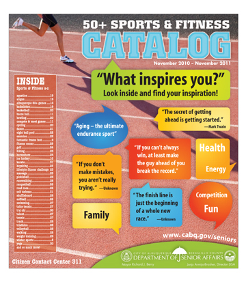 50 Plus Sports and Fitness Catalog Cover 11-2010 - 11-2011