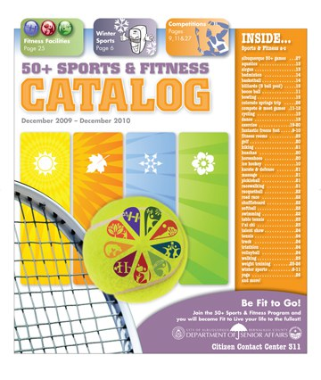 50 Plus Sports and Fitness Catalog Cover 12-2009 - 12-2010